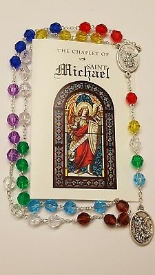 Chaplet of St. Michael  Angelic Crown  Rosary