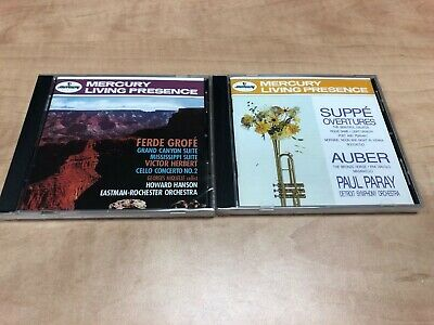 Mercury Living Presence Suppe Auber Overtures/ Ferde Grofé: Grand Canyon LOT 8