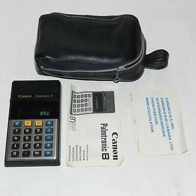 Vintage Canon Palmtronic LD-84  Calculator MADE in JAPAN