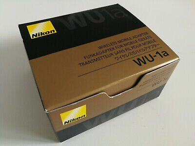 NEW Nikon WU-1a Wi-Fi Wireless Mobile Adapter, works with D3300, D5200 and more