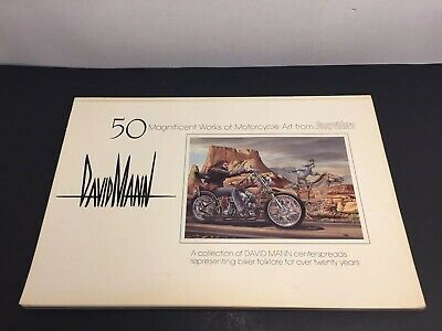 50 Magnificent Works of Motorcycle Easyriders - David Mann -1st Print SIGNED!!!