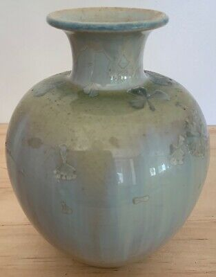 Australian Pottery - David Williams crystalline vase - approx. 12.5cm