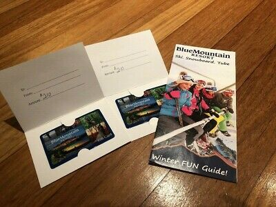 Blue Mountain Ski Resort Gift Cards $420USD Value