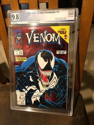 Venom: Lethal Protector #1 (1993) PGX 9.8  Wht Pgs Michelinie Bagley Just Graded