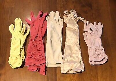 5 Pairs Of Womens Vintage Gloves