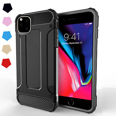 Hybrid Armor Tough Shockproof Case Cover For Apple iPhone 11 Pro Max Xs XR 8 7 6