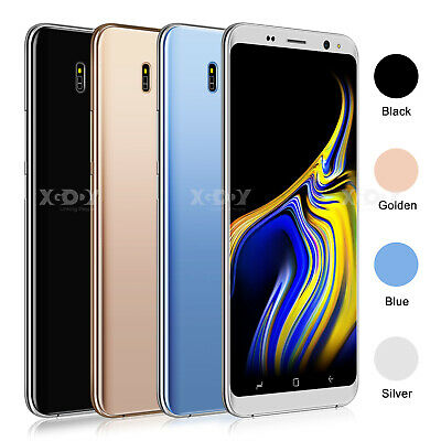 2019 New Android 8.1 Unlocked Mobile Phones Quad Core Dual SIM Smartphone 3G GPS
