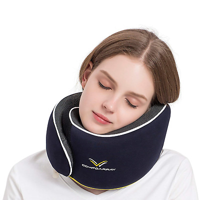 ComfoArray Travel Pillow, Neck Pillow for Airplane and Car. New Upgrade in for