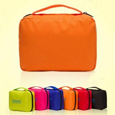 Travel Bathroom Storage Bag Foldable Make-up Bags Pouch Organizer Shower Pack AU