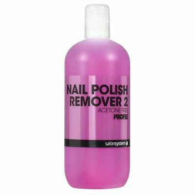 Salon System nail polisher remover acetone free profile 500ml