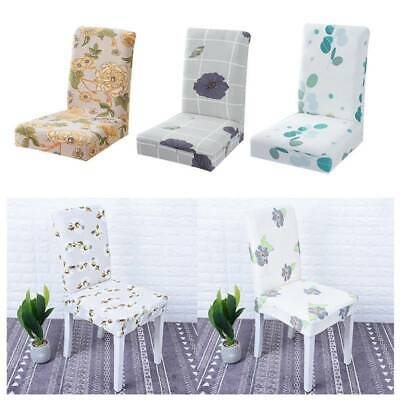 1X Stretchy Seat Covers Kitchen Dining Chair Cover Restaurant Decor Ontvx