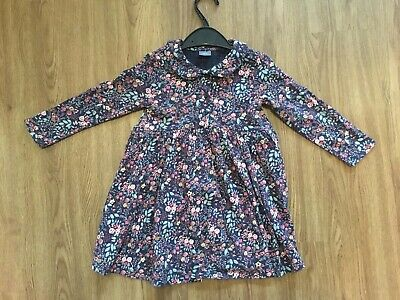 Next Girls Ditsy Print Tea Dress Size 18-24 Months 1.5-2 Years Worn Once!!