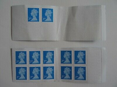 set of 12 postage stamps, 2nd class, unused.