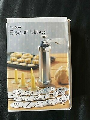 Pro Cook Biscuit Maker Boxed See Info Adult Child Baking Cookie