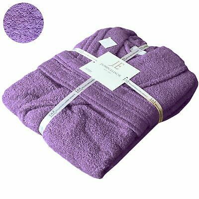 KIDS & Ladies COTTON BATH ROBE TOWELLING DRESSING GOWN VELOUR TERRY TOWEL SOFT