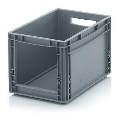 Storage Containers 40x30x27 with Window Stacking Box Eurobox Stackable