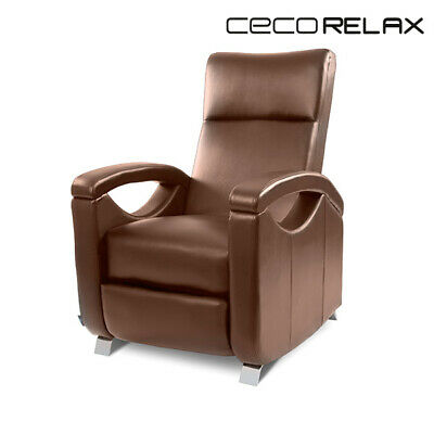 1692854 Poltrona Relax Massaggiante Push Back Marrone Cecotec 6027 V1700210