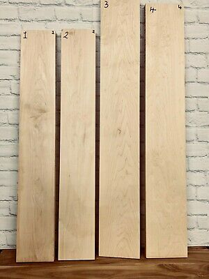 Guitar and bass Maple neck Tonewood blank