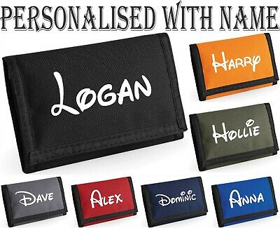 PERSONALISED WALLET ADD NAME BASKETBALL PLAYERS BOYS GIRLS XMAS GIFT PURSE