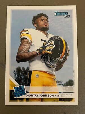 2019 Donruss Rated Rookie Diontae Johnson RC - Pittsburgh Steelers