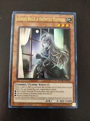 Ghost Belle & Haunted Mansion - DUDE-EN004 - Ultra Rare - 1st Edition