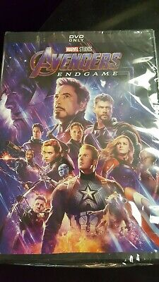 Avengers Endgame DVD Brand NEW / SEALED +FREE SHIPPING AUthentic