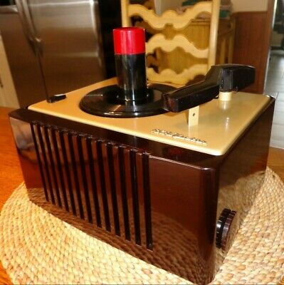 Rca Victor 45-Ey-2  Nice Totally!! Restored Vintage  45 Rpm  Record Player