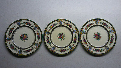 Wedgwood Sheerness, Bone China, 4 kleine Dessert- oder Brotteller, W959