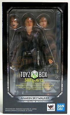 "In STOCK S.H. Figuarts Star Wars ""Anakin Skywalker"" Episode 3 ROTS Action Figure"