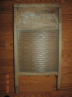 Vintage Washboard Atlantic NO 510 National Washboard Co