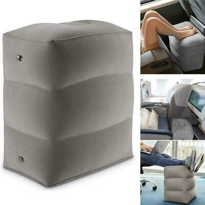 Inflatable Office Travel Footrest Leg Foot Rest Cushion Pillow Bed Kids Pad S5Z7
