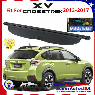 For Subaru Xv 13 17 Retractable Black Cargo Cover Rear Trunk Luggage Shade Auto Parts And Vehicles Auto Parts And Vehicles Auto Parts Accessories