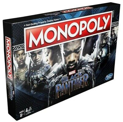 Hasbro HSBE5797 Monopoly - Black Panther Board Game