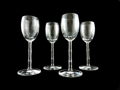 """Schott Zwiesel Clear Bamboo 5.5"""" Crystal Cordial Glasses (Set of 4)"""