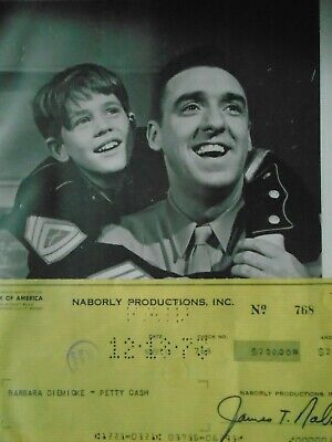 Andy Griffith Show Jim Nabors Gomer Pyle autograph signed check Free Photo
