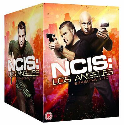 NCIS Los Angeles: Complete Seasons 1-10 (60 Discs) DVD NEW & SEALED