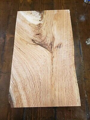 """RED OAK(Crotchy/Figured)Lumber20 1/4""""x12""""x3"""" Carving Craft Knife Scales ROC261"""