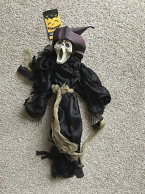 Halloween Wandbehang Dressed Skelett 50cm Hoch Fantastisch Scary Party Requisite