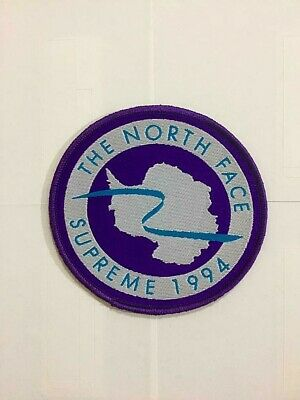 Printed The North Face X Supreme 1994 Expedition Patch Quality jackets arm jeans