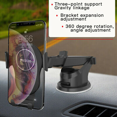 Gravity Car Phone Holder Magnetic Telescopic Suction Cup Car Phone Mount Holder