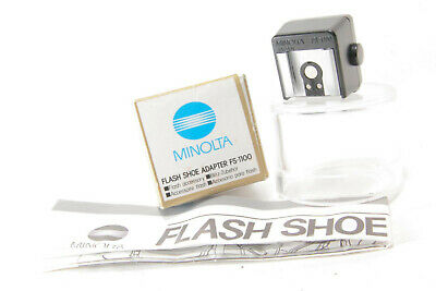 Minolta FS-1100 Flash Shoe Adapter w/ Original Box & Instructions