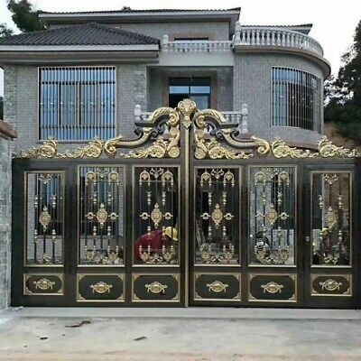304 Stainless Steel Wrought Iron Decorative Gate Fence Wall European Panel Metal
