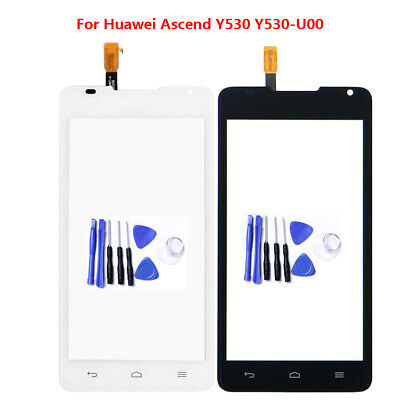 Outer Front Touch Screen Glass Panel Digitizer Repair For Huawei Ascend Y530
