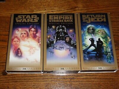 Star Wars Trilogy (VHS, 1997, Special Edition)  Digitally Mastered