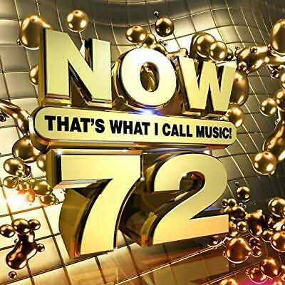 Now 72: That's What I Call Music Cd - Various Artists (2019) - New Unopened