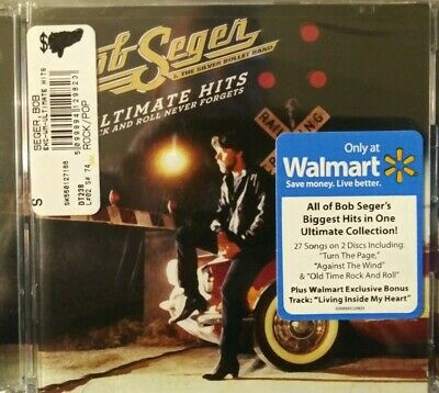 Ultimate Hits: Rock and Roll Never Forgets by Bob Seger Walmart exclusive Cd