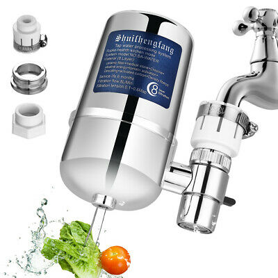 8-layer Tap Faucet Water Filter System Kitchen Home Mount Filtration Purifier US
