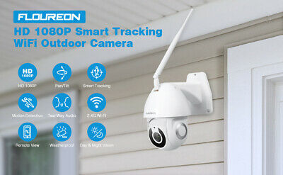 FLOUREON YI IOT 1080P HD WiFi IP Security Camera Pan/Tilt IR Night Vision IP66
