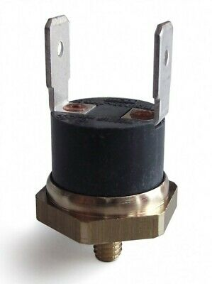Thermostat Safety 78°C NC78 16A 250V Screw M4 Mounted