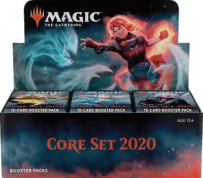 Core 2020 Booster Box - Magic: The Gathering   MTGSealed with Buy a Box Promo